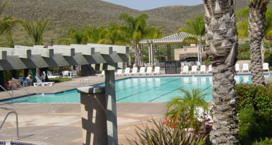 Menifee Oasis 55 and Over Community for Active Seniors