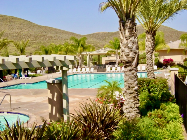 Menifee Oasis - Pool Area