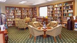 Menifee Oasis - Clubhouse Library
