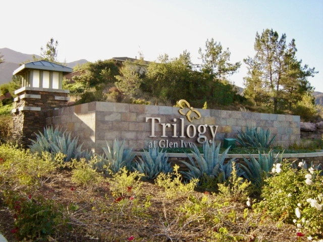 Entrance to Trilogy at Glen Ivy