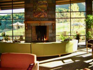 Lounge area at Trilogy Glen Ivy 55+ community
